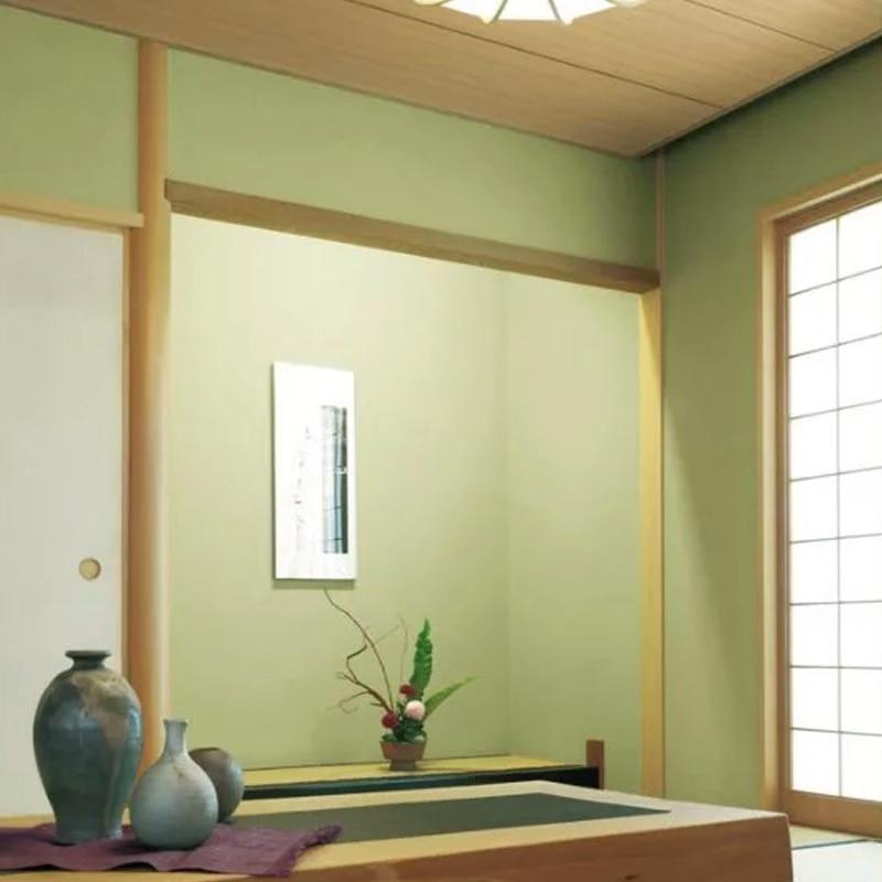 Tatami Wallpaper Matcha Green Plain Japanese Decorative  Bedroom Wall Paper Roll<br>