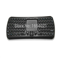 Black Multifunction IBK-26 Bluetooth Mini Touchpad Keyboard Support For Mac OS X/ Android/ Windows System Free Shipping