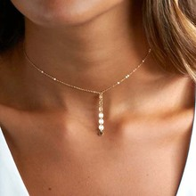 Dainty Choker Necklace, Chain Choker Necklace Layering Necklace XL451