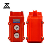 COB-61 Silver Contact Up Down Pushbutton Crane Hoist Switches Waterproof Push Button