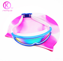 Quality Children Swimming Goggles HD Swimming Glasses with box swimming pool spectacles For kid girls boys swim accessory(China)