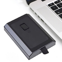 New HDD Case Hard Drive External Enclosure Box Shell Cover for Microsoft Xbox 360 Slim Black EM88(China)