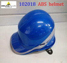 102018 Safety Helmet Hard Hat Work Cap ABS Insulation Material With Phosphor Stripe Construction Site Insulating Protect Helmets(China)