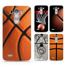 Basketball dark Hard White Plastic Phone Cases Cover Shell Coque for Cell for LG G3 G4 G5 SE V10 V20