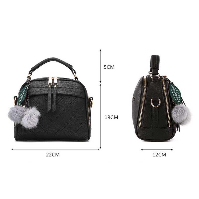 حقيبة الكتف للنساء بالوان متعددة 2