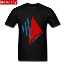 Vintage Vaporwave Tee shirt Men's Retro Looking Logo Tshirt Crew Neck Sale Branded T Shirt Valentines gifts(China)