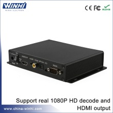 Full hd media player WINHI hard disk drive player