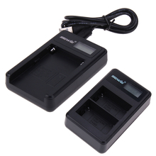 1PC LED Camera Light Battery Charger For Sony NP-F550 With LCD Screen Power Display Screen Digital Camera Battery Charger