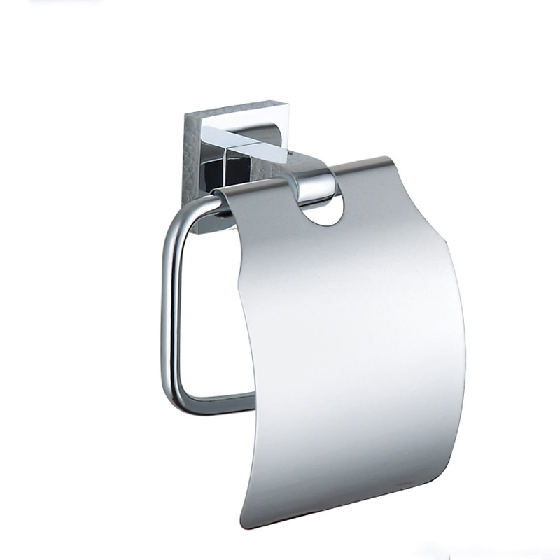Paper Towel Box 304 Stainless Steel and Copper Wall Mounted Vintage Chrome Hanger Toilet Paper Holder for Bathroom &amp; Kitchen <br>