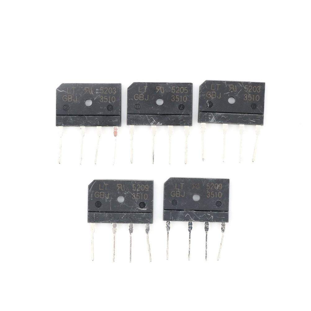 5pcs Electrical Components Hot GBJ3510 35A 1000 V Diode Bridge Rectifier
