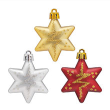Buy 5 Stars/Bags Tree Ornament Party Hanging Bling Star Tree Baubles Christmas Tree Decoration for $1.55 in AliExpress store