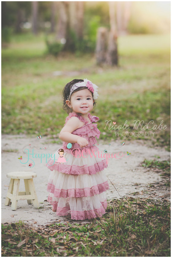 Flower girl dress,Champagne Rose Chiffon lace Dress,wedding dress,baby girls dress,Birthday,Country Rustic Wedding<br><br>Aliexpress