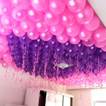 100 Pcs/lot 10 cm 1.5g Latex Helium Inflatable Thickening Pearl Balloons Wedding Supplies Birthday Party Decoration Air Balls