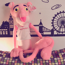 55-130CM Stuffed Pink Panther Doll Toy Cloth Doll Action Figures for Valentine Birthday Gift(China)
