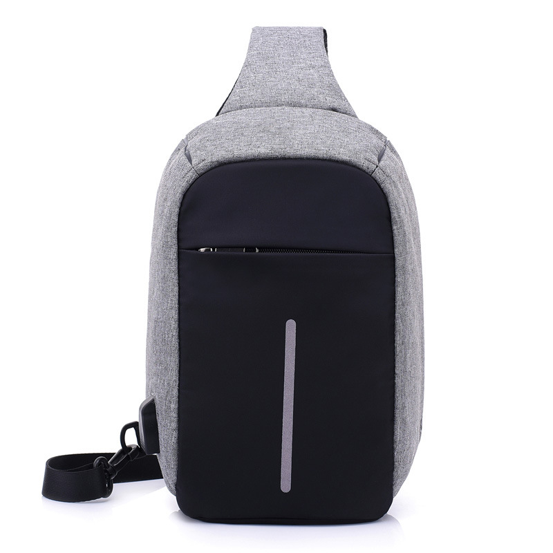 Men Anti Theft Backpack USB Rechargeable Crossbody Women Bags Boys Girls Single Shoulder Bag Backpacks Sac A Dos Homme BP0205 (1)