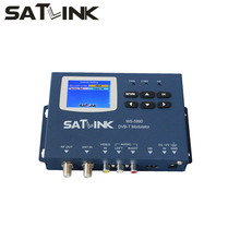original SATLINK WS5990 MPEG2 DVB-T Modulator HD MI/AV input to DVB-T channels modulator COFDM modulation,wall mountable(China)