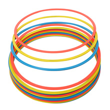 12PCS Soccer Speed Agility Rings Sensitive Football Equipment Training Pace Lap Football Training Soccer Speed Agility Rings(China)