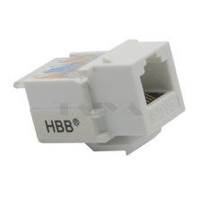 keystone CAT3  RJ11 with white color