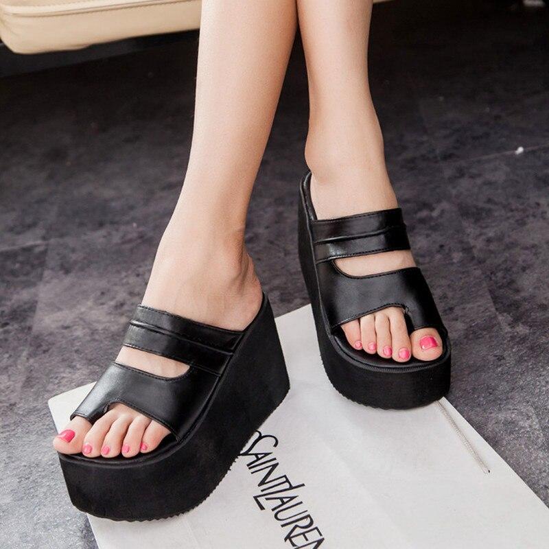 Summer new arrival 2017 flip flops platform wedges sandals women foot wrapping beach slippers womens shoes sandals<br><br>Aliexpress