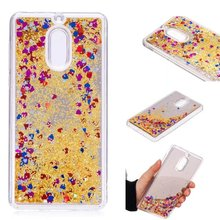 Buy Luxury case Nokia 6 8 3 Hard Liquid Quicksand Bling Glitter Transparent Protective back cover nokia 8 6 3 phone shell for $3.19 in AliExpress store