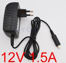 AC 100V-240V Converter Adapter DC 12V 1.5A 1500mA Power Supply EU Plug Battery Charger For Acer Iconia A510 A700 A701 tablet pc