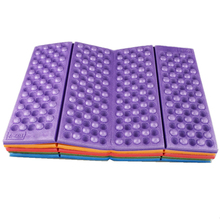 Foldable Folding Outdoor Camping Mat Seat Moisture proof XPE Cushion Portable Waterproof Foam Pads Yoga Chair Picnic Beach Pad(China)