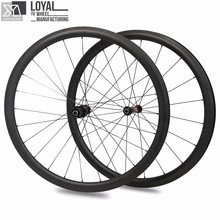 Super Light Carbon Road Bike Wheels 25mm Width 38mm Depth Tubeless Ready With Sapim Spokes And DT SWISS 240s Straight Pull Hub