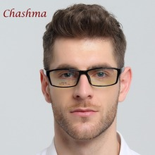 Chashma Brand TR 90 Eyewear Sport Style Optical Glasses Frames Men and Women Black Eye Glasses(China)