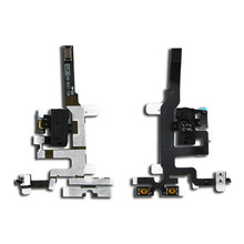 100% Original High Quality Replacement Parts For Apple iPhone 4S Jack Audio Volume Mute Silent Switch Button Key Flex Cable