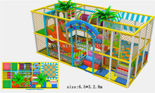 2015 CE Approved Safe Kids Indoor Playground Equipment Golden Factory Plaza De Juegos HZ-51027a