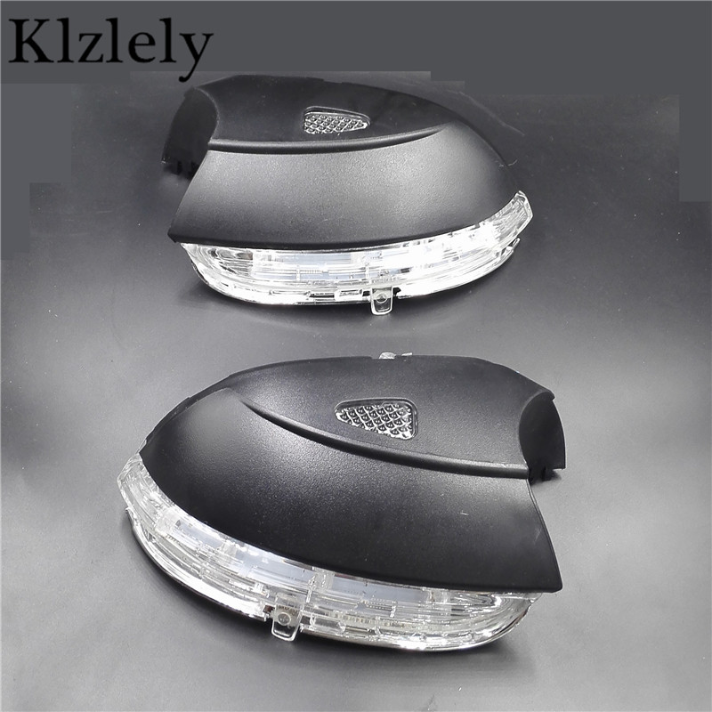 For VW Jetta Passat CC Scirocco 2008-2015 Led Car Styling Side Mirror With Indicator Turn Signals Lights left + right EWS10733L<br><br>Aliexpress