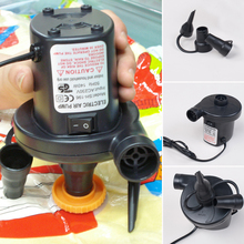 2015 New Arrival 220V AC Car Electric Air Pump For Camping Airbed Boat Toy Inflator Novel design