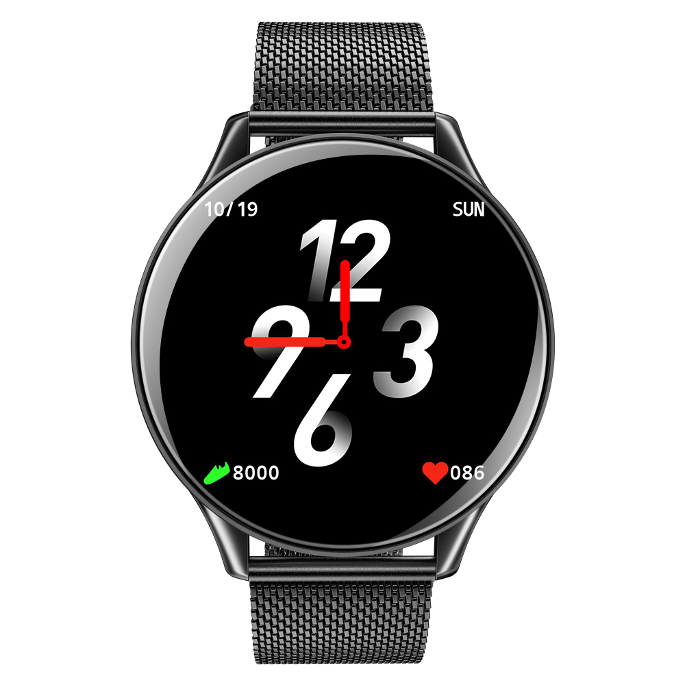 2019 Smart Watch IP68 Waterproof Activity Fitness Tracker Pace Heart Rate Monitor Smart Band SN58 LCD Tempered glass Wristwatch (11)