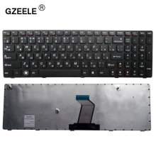 GZEELE russian laptop Keyboard for Lenovo 25012636 25012459 25013317 25013375 25011910 25013250 25013206 9Z.N5SSW.A0R RU Frame(China)