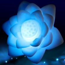 Changeable Lotus Flower Night light Lotus Flower LED Night Light Romantic Lamp Decoration