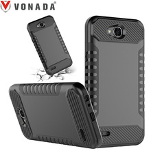 Vonada Case for LG X Power 2 / LV7 / K10 Power Dual Layer Heavy Duty TPU PC Shockproof Armor Cell Phone Case Cover(China)