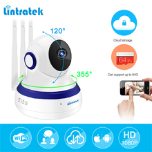 lintratek hd 1080P IP Camera WIFI 2.0MP CCTV Video Surveillance P2P Home Security Three Antennas Cloud Storage WiFi Baby Monitor(China)