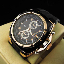 Fashion men wristwatches rubber strap Alloy dial Men's sports watches  LL