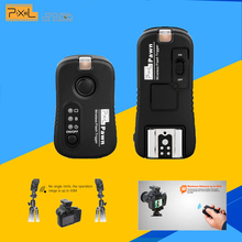 Pixel Pawn TF-361 Wireless Remote Control Shutter Release Flash Trigger for Canon DSLR Cameras Transmitter and Receiver(China)