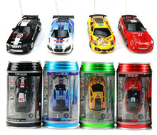 High-tech Mini Coke Can RC Radio Speed Remote Control 4CH Micro Racing Car Hobby Vehicle fun game kids baby Toy Birthday Gift