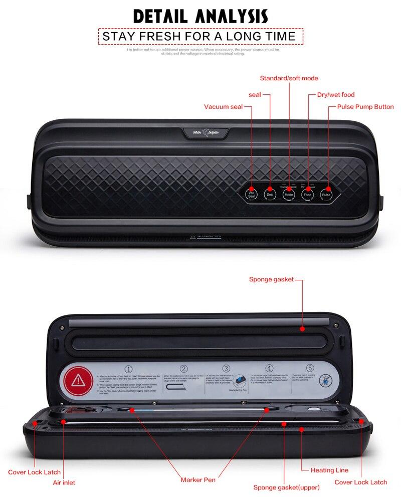 food vacuum sealer packaging machine 220v