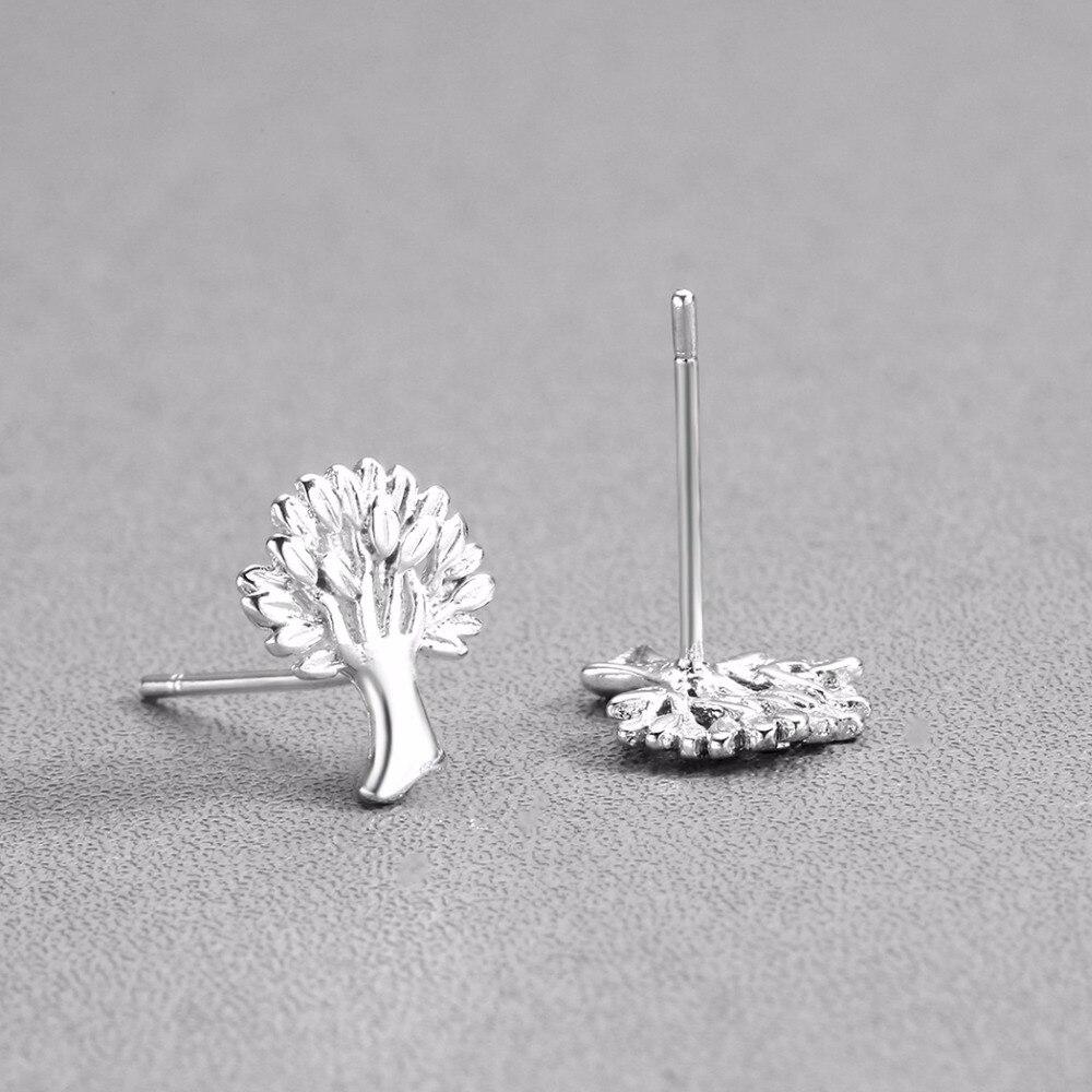 life tree earrings silver