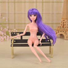 3D Supersize Eyes Nude Naked Doll Fairy Dolls Girl Kids Toys Birthday Christmas