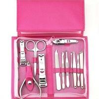 14 шт. маникюрный набор Оборудование для дизайна ногтей с ногтей Cutter Clipper Файлы Ножницы мертвой кожи Вилы Ножи