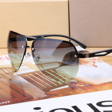 Luxury Aviator Polarized Men for women Rimless Sunglasses Aluminum Magnesium Brand Designer drive Eyewear