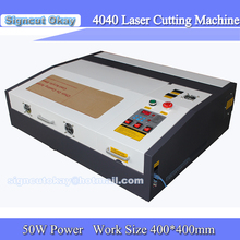 4040 Co2 Laser Engraver 50w Laser Cutting Machine with USB Port, Lift system / up and down Laser positioning Linear Guide