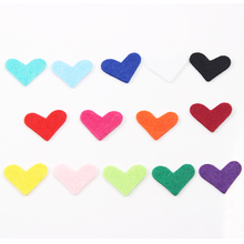 14pcs/lot Colorful 22*28MM Heart Essential Oils Diffuser Locket Pendant Necklace Felt Refill Pads for Aroma Purfume Locket