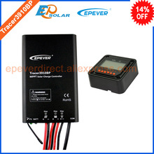 24v portable solar battery controller Tracer3910BP +MT50 remote meter 15A 15amp EPEVER brand product(China)
