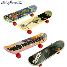 Buy Abbyfrank 10Pcs Fingerboard Mini Finger Skateboard Tech Deck Mini Skate Alloy Stent Scrub Finger Scooter Skate Boarding Game for $4.13 in AliExpress store