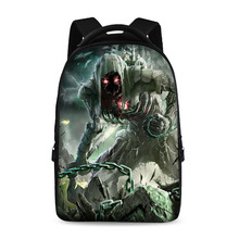 Crazy bags Backpacks For Teens Computer Bag Fashion School Bags For Primary Schoolbags Fashion Backpack Best Book Bag Ghosts(China)